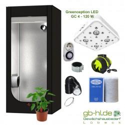 Starterset Secret Jardin Hydro Shoot 80 - Greenception GC 4 - 128 W