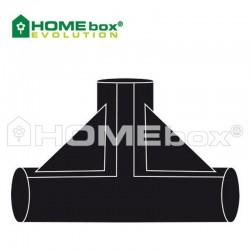 HOMEbox® T-Stück 3 Wege Verbinder 22 mm
