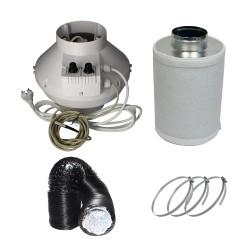 Prima Klima Temp Controlled Can-Lite 0 - 400 m³/h Lüftungsset
