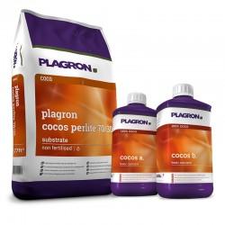 Plagron Cocos A&B 1 l + 50 l Cocos Perlite