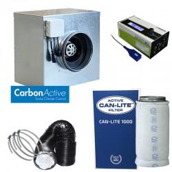 CarbonActive EC Silent Box 1000 m³/h 200 mm inkl. GrowControl FANBASE EC
