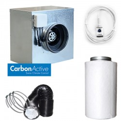 CarbonActive EC Silent Box 1500m³/h 250mm inkl. GrowControl FANSPEED EC Klinke
