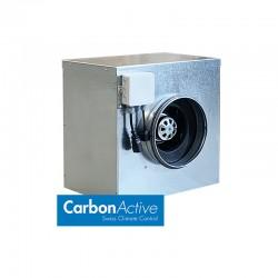CarbonActive EC Silent Box 280 m³/h 125 mm