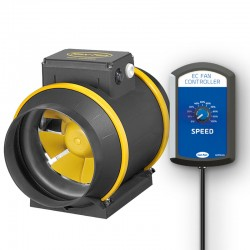 MAX-FAN PRO EC 200 - 1301 m³/h Speed Control