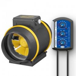 MAX-FAN PRO EC 160 - 807 m³/h Speed & Temp Control