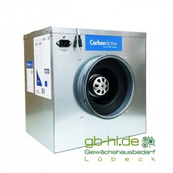 CarbonActive EC Silent Box 1250m³/h 200mm