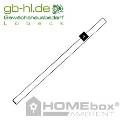 HOMEbox® Dach- und Bodenstange Nr.1 113 cm