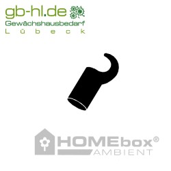 Homebox Spare Parts Befestigungshaken kurz 22mm