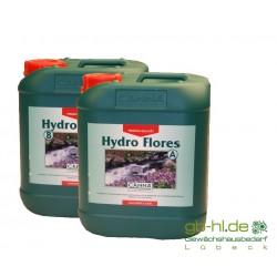 Canna Hydro Flores A & B 2 x 10 l Hart