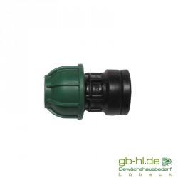 """Verbindungsstück 20 mm - 3/4 """" IG"""