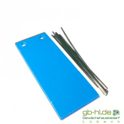 Blautafeln 10 Stk 5 x 12 cm