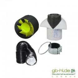 GHP Fan Can-Filter Lüftungsset