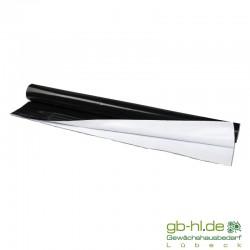 Folie-Schwarz/Weiß 25 m Rolle