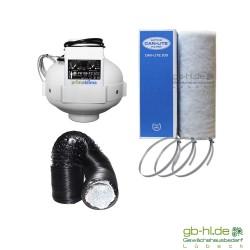 Prima Klima Temp Controlled Can-Lite 0 - 280 m³/h Lüftungsset