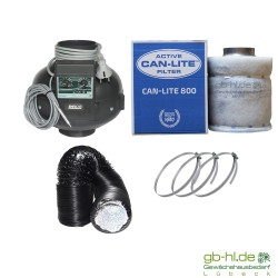 Prima Klima Temp Controlled Can - Lite 0 - 800 m³/h Lüftungsset